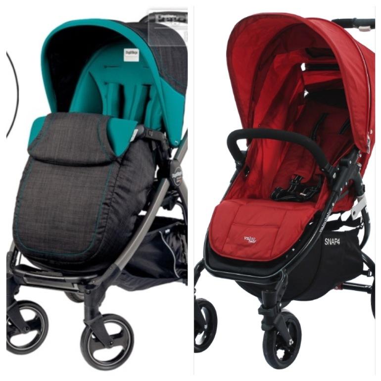 Valco Baby Snap 4 & Peg-Perego Book Plus Pop-up помогите с