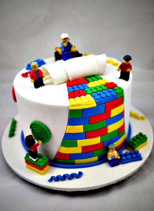 Лего как сделать торты 290