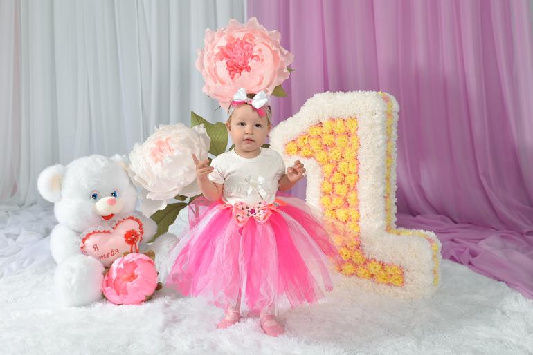 Поздравления с днем рождения 1 годик девочке настенька