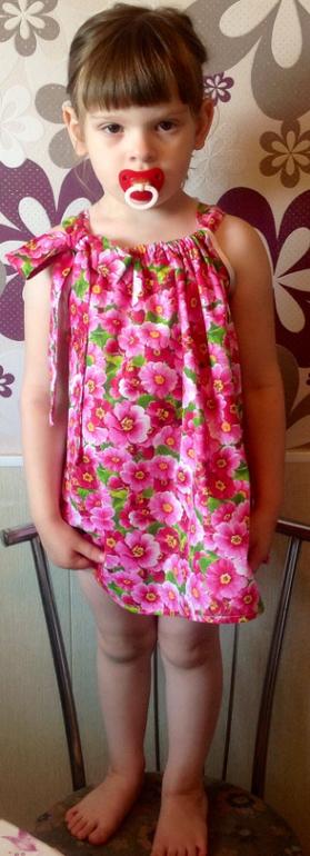 Шить сарафаны и легкие платья из ситца