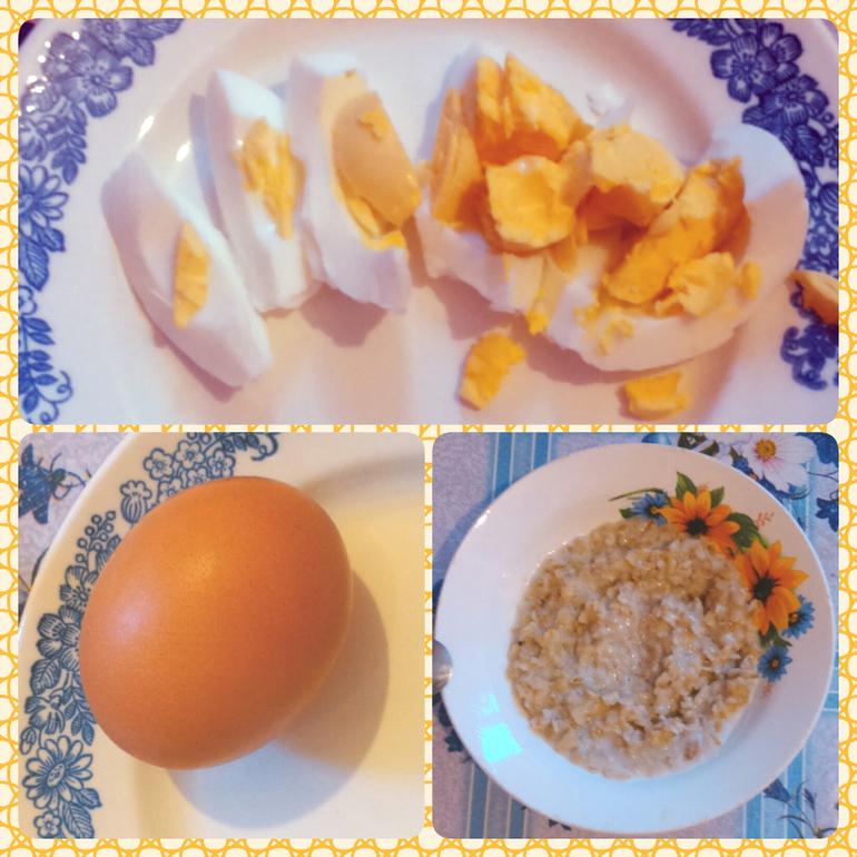 Диета после отравления яйца