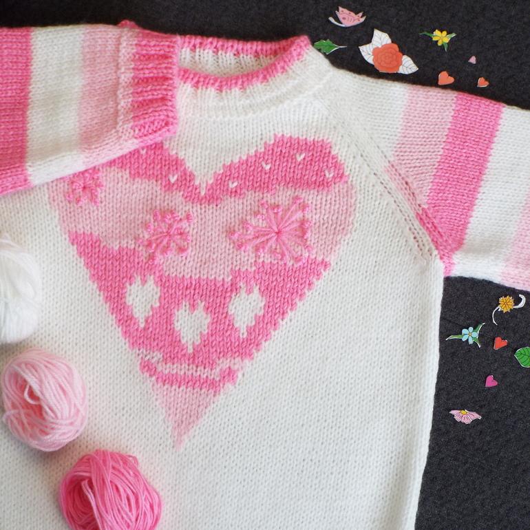 вязание спицами для детей в инстаграм