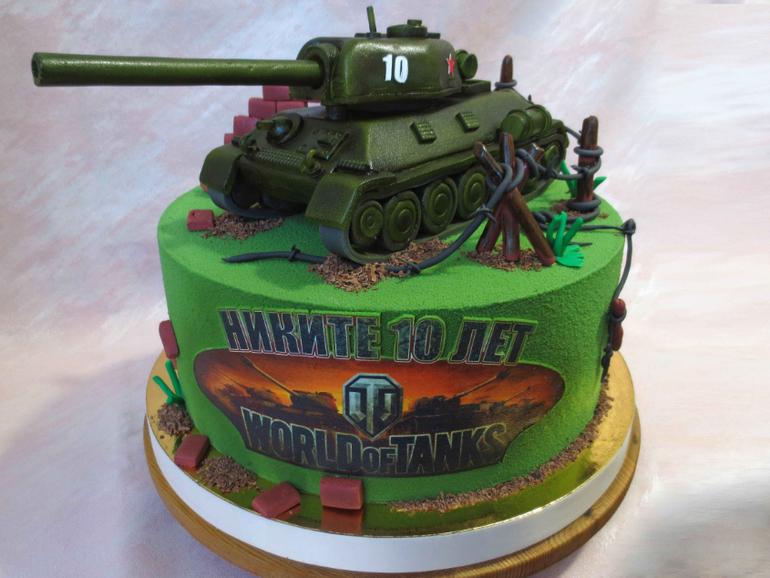 картинки торта танки нравные зело лютые