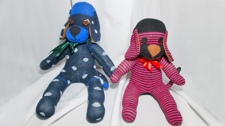 Изготовление игрушек с носков