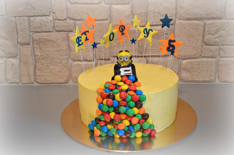 Торт из заварнушек фото 8