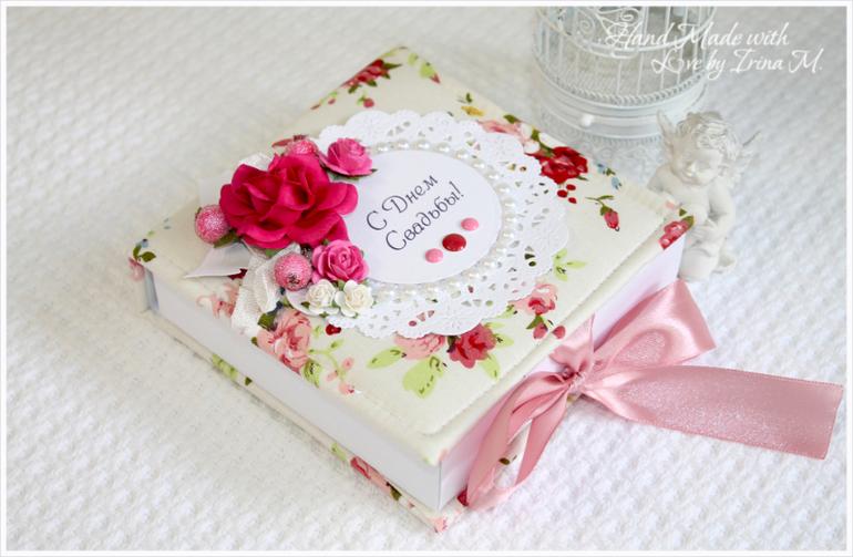 Коробочки для подарков на свадьбу