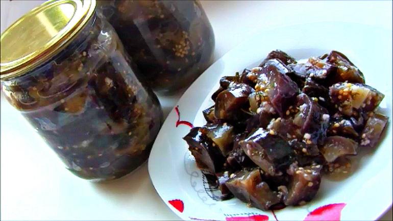 как приготовить баклажаны на зиму как грибы микроспории