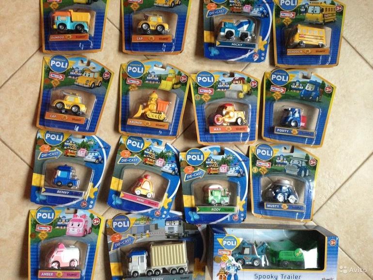 картинки робокар поли игрушки