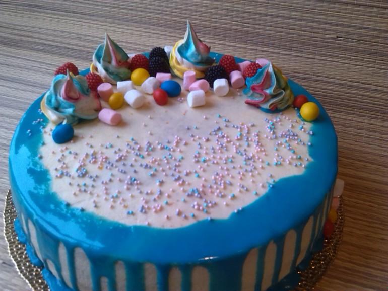 Глазурь цветная для торта