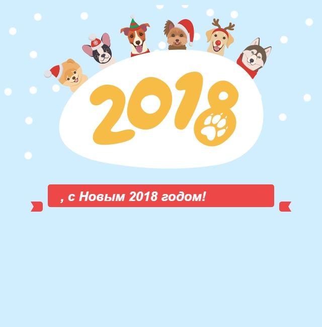, с Новым 2018 годом!