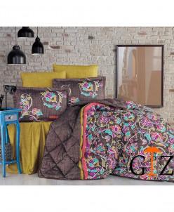 Комплект Постельного Белья с одеялом Clasy Satin Евро 2 сп.