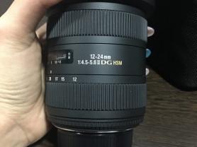 Продам sigma AF 12-24mm f/4.5-5.6 DG HSM II Nikon