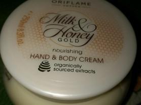 """Крем для рук и тела """"молоко и мёд """",  """" Орифлейм"""""""