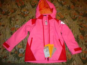 Куртка Н&М(новая) для девочки 5-6 лет(116см)