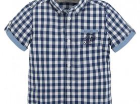 Новая рубашка Mayoral с коротким рукавом, 110 см