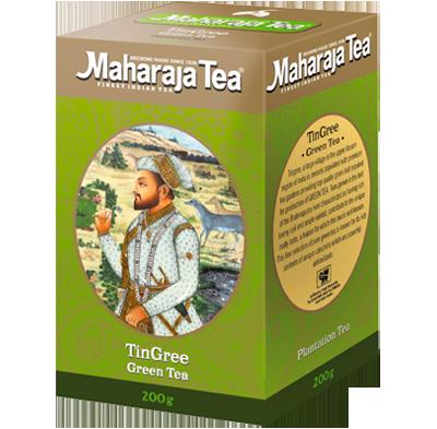 "Чай ""Махараджа"" индийский  Зеленый Ассам   ""Тингри"" 100гр"