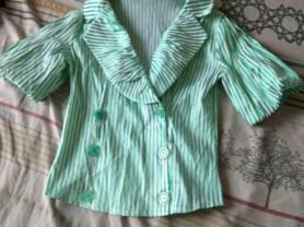Летний пиджак-блуза