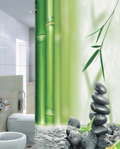 Bamboo Штора для ванной 180х180 PLE