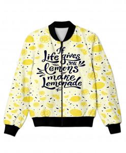 Бомбер Если жизнь подсовывает лимоны - сделай лимонад!