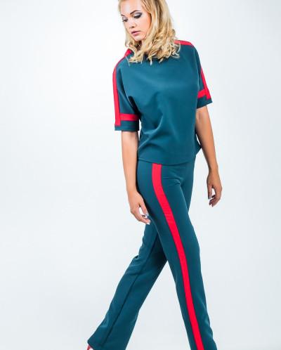 Костюм (брюки и блуза) 853