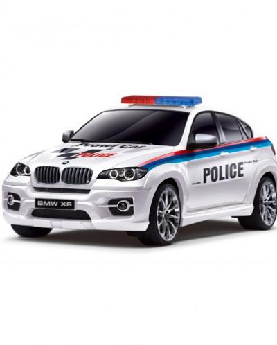 Полицейская машина со световыми эффектами