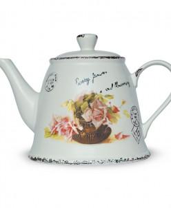 """Чай Хайтон в керамическом чайнике """"Марокко"""" 80 гр. ж/б."""