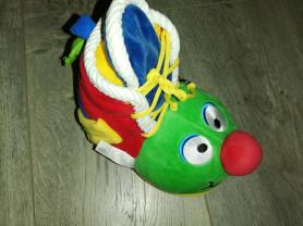 Развивающая игрушка ботинок с зеркалом