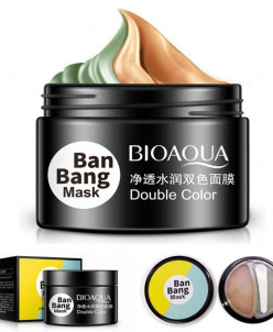 BIOAQUA, Двойная маска для ухода - очищение и матирование т-