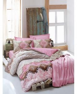 Комплект Постельного Белья с одеялом из хлопка - Verona Mavi
