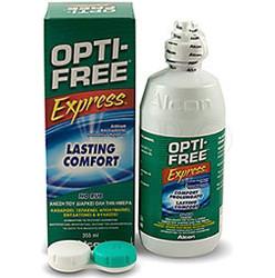 раствор Optifree Экспресс 355 мл + контейнер
