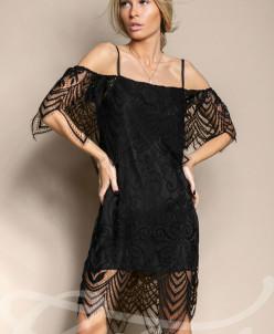 Нежное кружевное платье Gepur