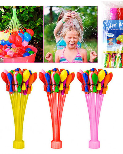 Водяные шары-бомбочки 111 шаров