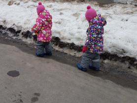 Костюмы на холодный демисезон для девочек