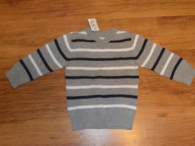 Хлопковый серый свитер The Children's Place