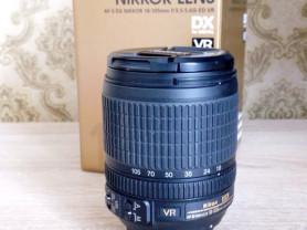 Nikkor 18-105mm f/3.5-5.6G AF-S ED DX VR