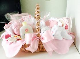 корзина подарок новорожденному