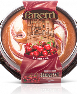 Торт бискв. Faretti  вишневый