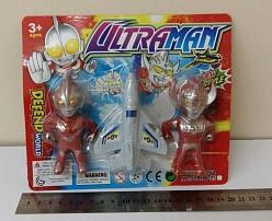 Фигурки с самолетом из серии ULTRAMAN