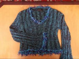 Необычный пуловер 44 - 46 р