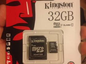 карта памяти микро на 32 GB новая !!!