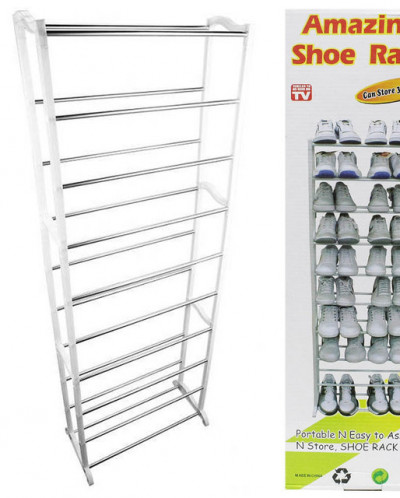 Полка для хранения обуви 30 пар