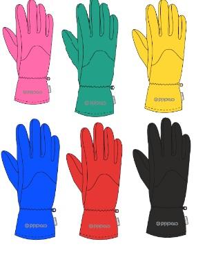 CROCKID Крокид флисовые перчатки