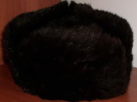 Шапка мужская натуральный мех кролик - р.55