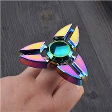 Игрушка-антистресс спиннер SPINNER металл. Звезда 2 Хамелеон