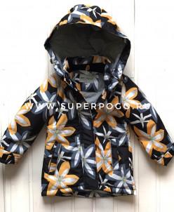 Пальто для девочки демисезонное мембранное
