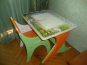 Детский комплет стол+стул.