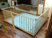 Большой детский деревянный манеж 1.7х2.0м