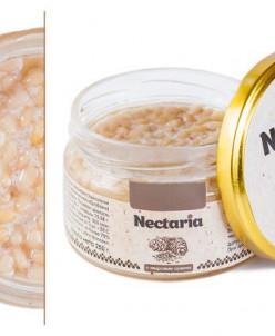Взбитый мед Nectaria с кедровым орехом- 4 банки