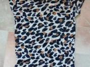 Кофточка Американка сеточкой, леопардовая р.38 Или