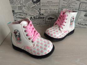 Новые демисезон. ботинки Indigo для девочек, 26-31
